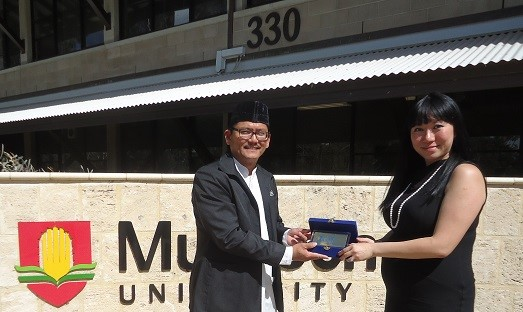 Ms. Pearl Chua, Senior International Relationship Manager, Murdoch University, Perth, Western Australia